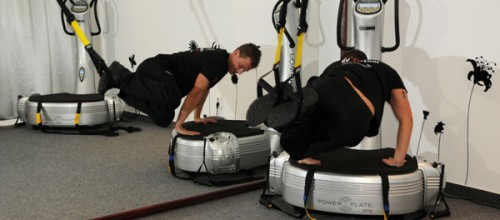 Power Plate with TRX